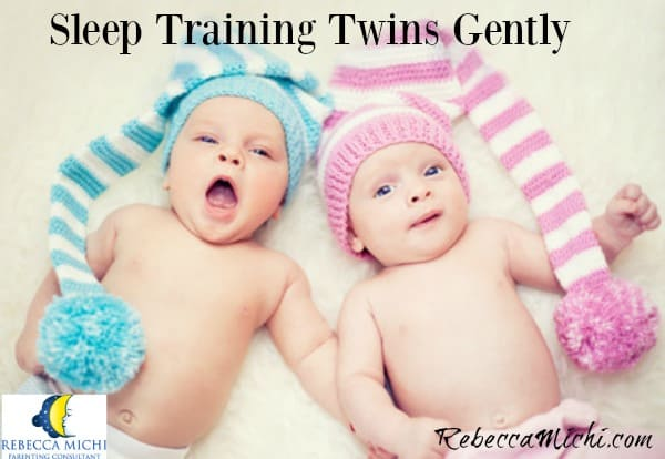 Sleep training twins gently_RebeccaMichi.com