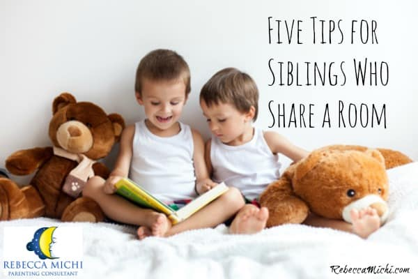 Five tips for siblings who share a room_RebeccaMichi.com