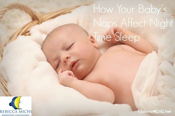How Your Baby's Naps Affects Night Time Sleep